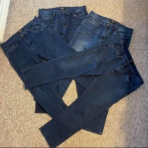 Four Pairs of Bluenotes Jeans 36x30